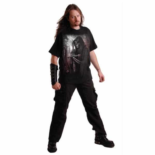 soul searcher svart t-skjorte til herre D050M101