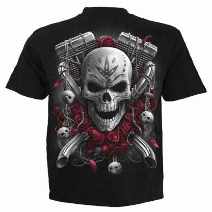 dotd bikers svart t-skjorte til herre D081M101