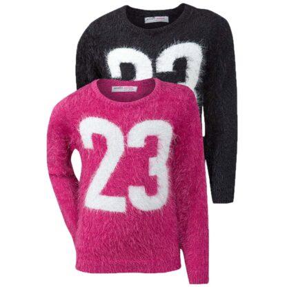 girls 23 fluffy genser til jente GRUNGE 4