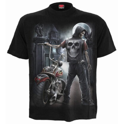 night church svart t-skjorte til herre T121M101