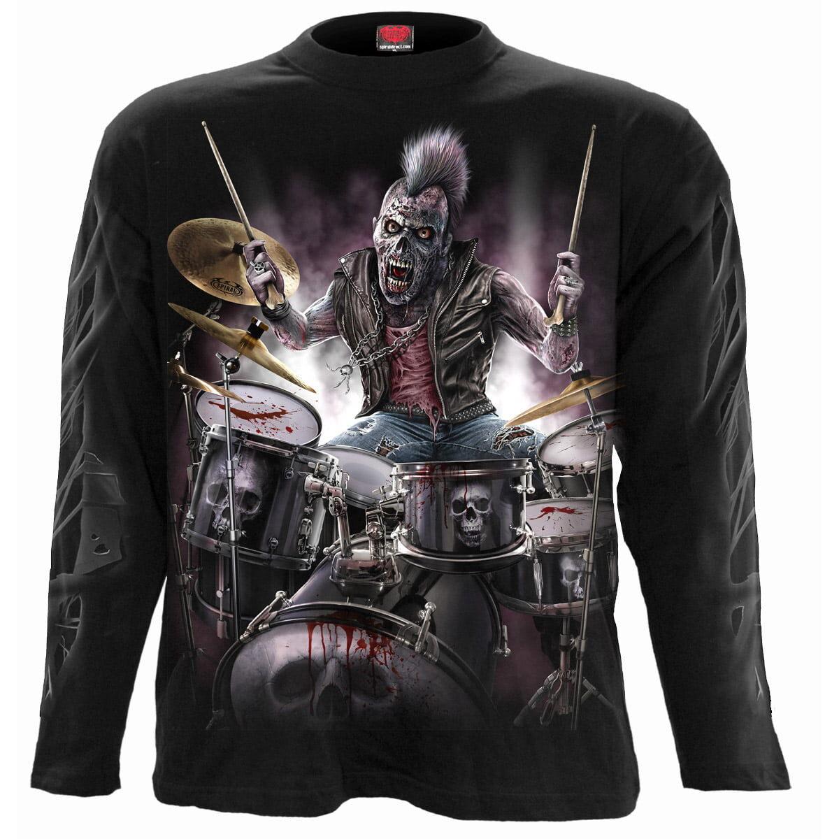 zombie backbeat tynn genser til herre T156M301