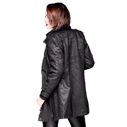 jakke med metallspenne på krage og ermer JA1-160/09