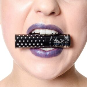 Blå leppestift Manic Panic Ice Metals Lethal Lipstick After Midnight 1260021015