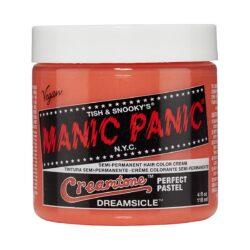 manic panic creamtones oransje pastell hårfarge 118 ml dreamsicle pot 70484