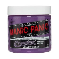manic panic creamtones lilla pastell harfarge 118 ml velvet violet pot 70486