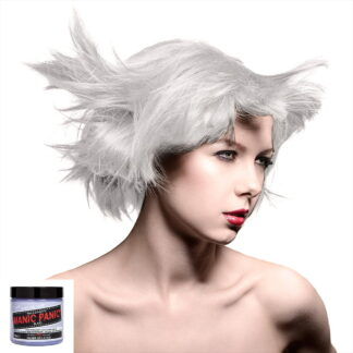 manic panic high voltage sølv hårfarge 118 ml silver stiletto pot 70603