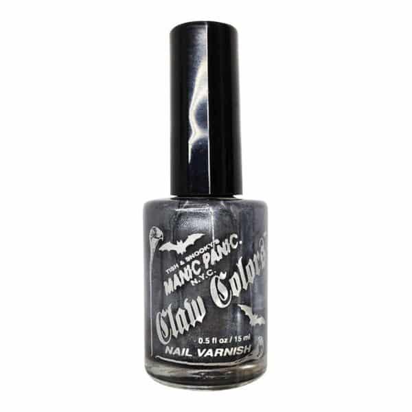 grå neglelakk manic panic claw color hell's bells 9047