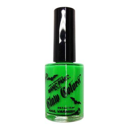 grønn uv neglelakk manic panic claw color electric lizard 9056