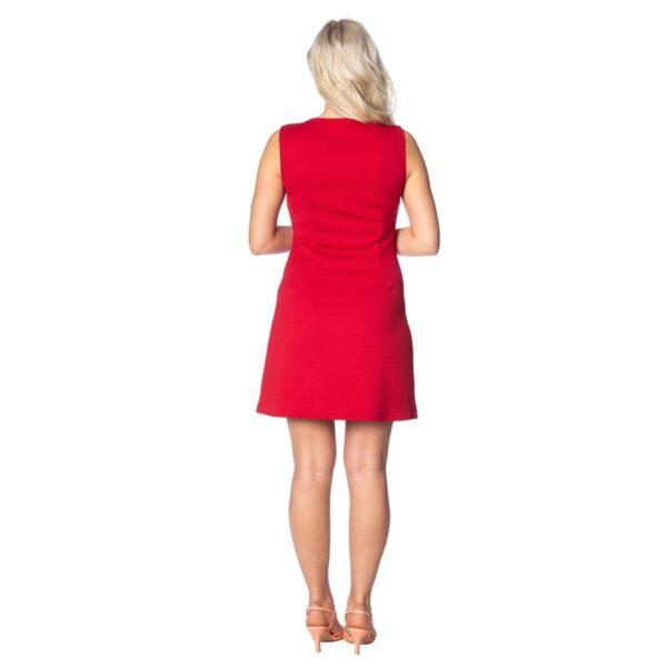 groovy gal rød kjole med glidelås DR16021