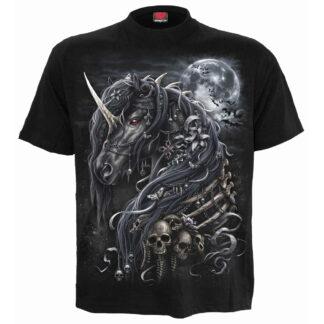 dark unicorn svart t-skjorte til herre L038M101