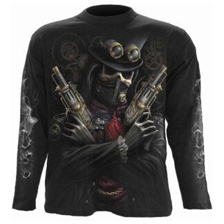 steam punk bandit tynn genser til herre T042M301