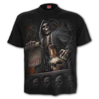 judge reaper svart t-skjorte til herre T115M101