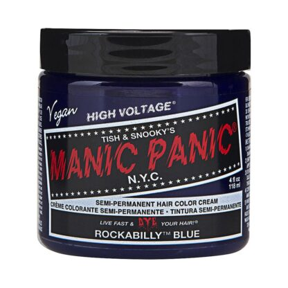 70430 Manic Panic High Voltage Classic Formula Colour blå hårfarge rockabilly blue pot