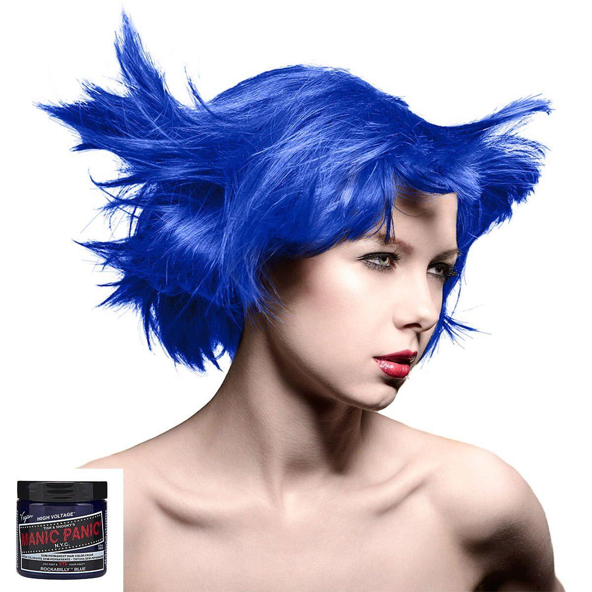 70430 Manic Panic High Voltage Classic Formula Colour blå hårfarge rockabilly blue model