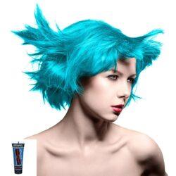 manic minis turkis hårfargeprøve atomic turquoise model 70590