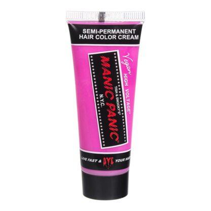 manic minis rosa uv hårfargeprøve cotton candy pink sample 70595