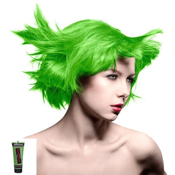manic minis grønn uv hårfargeprøve electric lizard model 70597