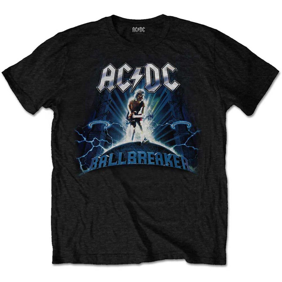 ac/dc ballbreaker svart t-skjorte til herre ACDCTS56MB