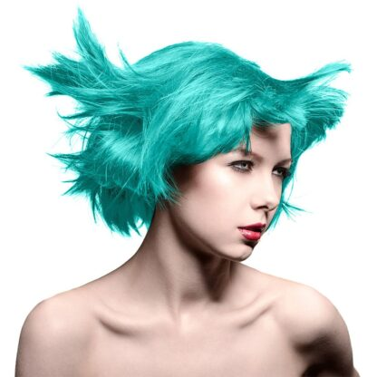manic panic classic blågrønn uv hårfarge siren's song pot 6008