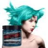 manic panic classic high voltage blågrønn uv hårfarge 118ml siren's song model pot 6008