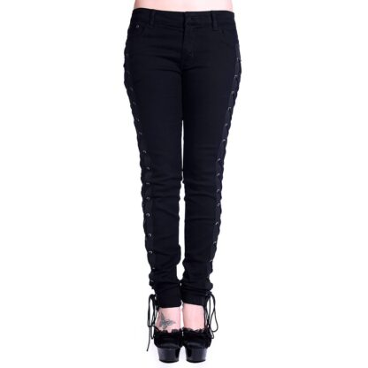 corset style skinny jeans TBN428