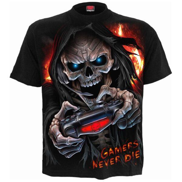respawn svart t-skjorte til herre T183M101
