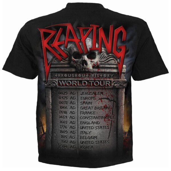 reaping tour svart t-skjorte til herre T181M101
