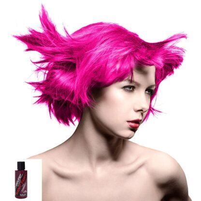 manic panic amplified rosa uv hårfarge 118ml hot hot pink model 70578