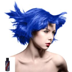 manic panic amplified blå hårfarge 118ml rockabilly blue model 70581