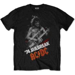 ac/dc jailbreak svart t-skjorte til herre ACDCTS44MB