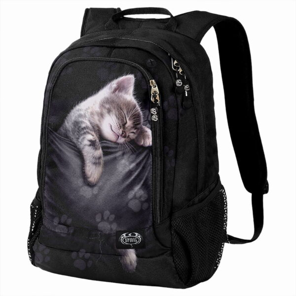 pocket kitten ryggsekk med laptop lomme F052A308