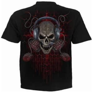 pc gamer svart t-skjorte til herre T188M101