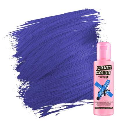 crazy color hårfarger blå hårfarge capri blue 002234
