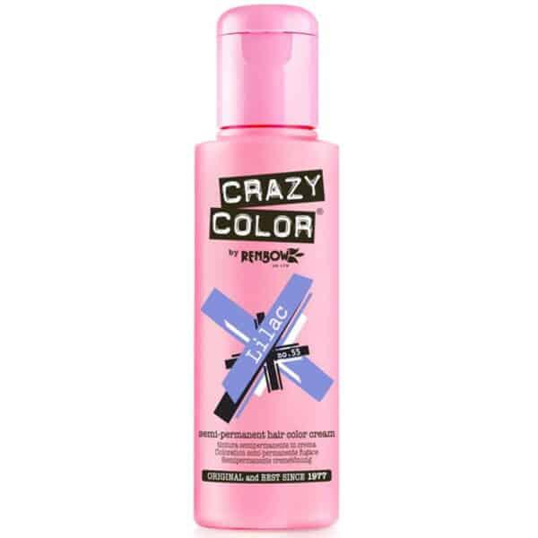 crazy color hårfarger lilla hårfarge lilac 002245
