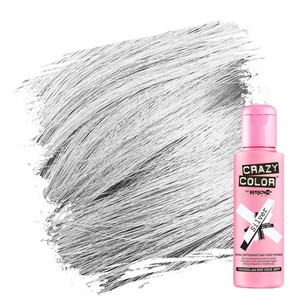 crazy color hårfarger sølv hårfarge silver 002270