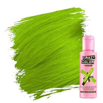 crazy color hårfarger grønn hårfarge lime twist 002279