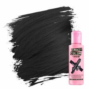 crazy color hårfarger svart hårfarge natural black 002284