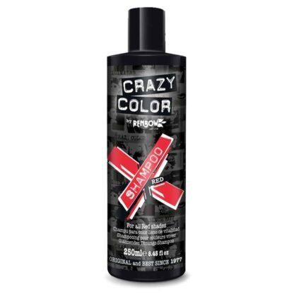 crazy color shampoo rød sjampo red 002420