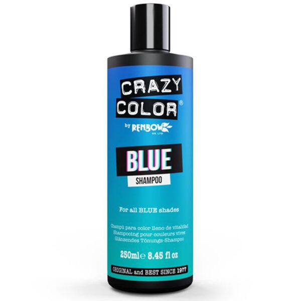 crazy color shampoo blå sjampo blue 002421