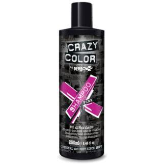 crazy color shampoo rosa sjampo pink 002423