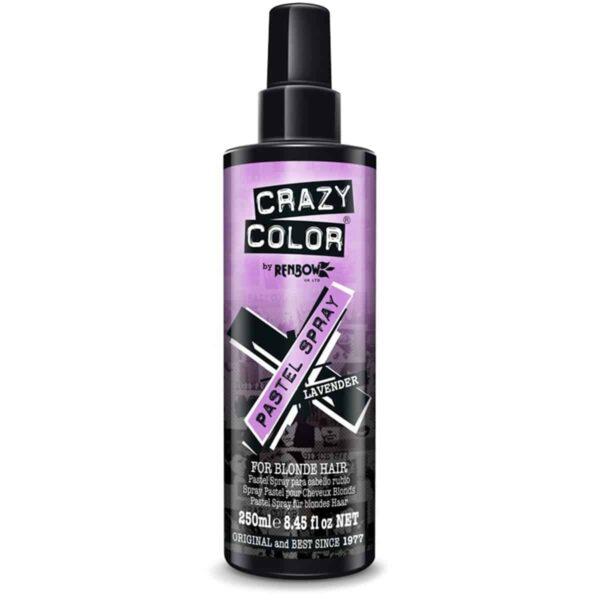 crazy color pastel spray lilla hårfarge spray lavender 002453