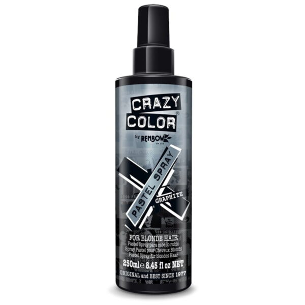 crazy color pastel spray grå hårfarge spray graphite 002481