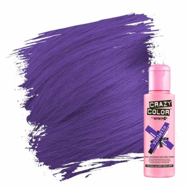 crazy color hårfarger lilla hårfarge violette 002233
