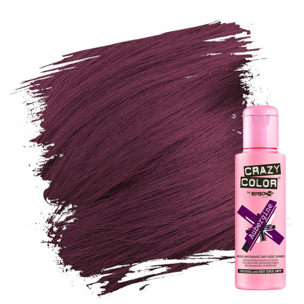 crazy color hårfarger burgunder hårfarge aubergine 002240