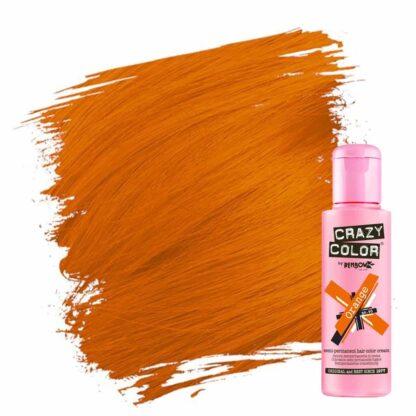 crazy color hårfarger oransje hårfarge orange 002250