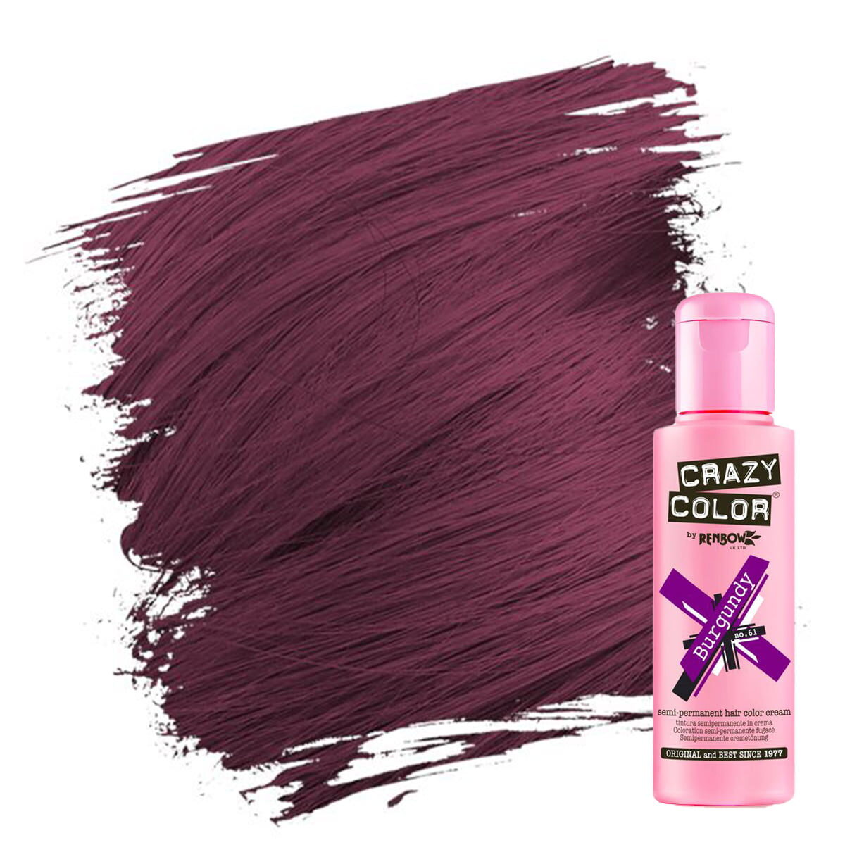 crazy color hårfarger burgunder hårfarge burgundy 002251