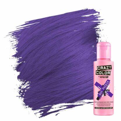 crazy color hårfarger lilla hårfarge hot purple 002275