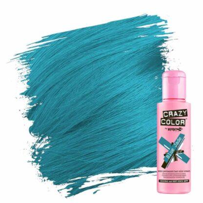 crazy color hårfarger turkis hårfarge blue jade 002278