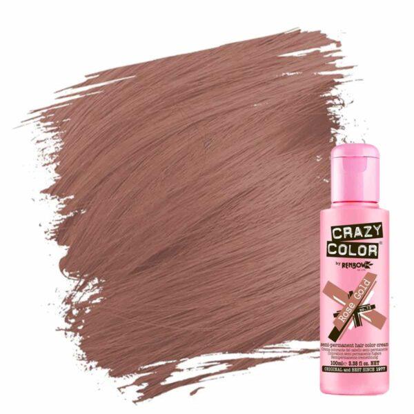 crazy color hårfarger rosegull hårfarge rose gold 002293