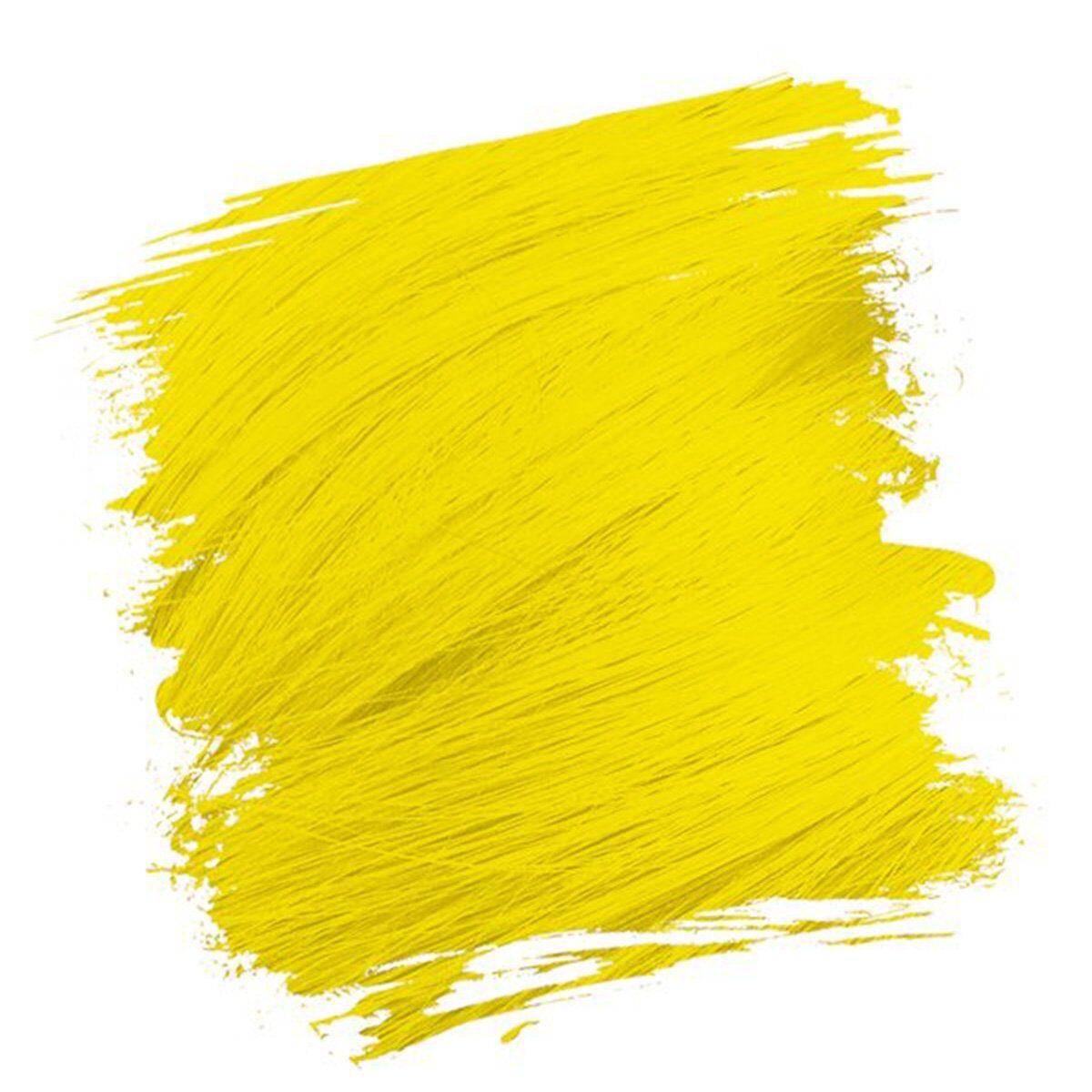 crazy color hårfarger neon gul hårfarge caution uv 002296